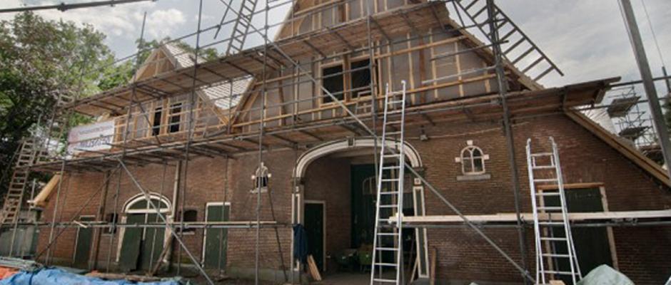 renovatie van een oude boerderij